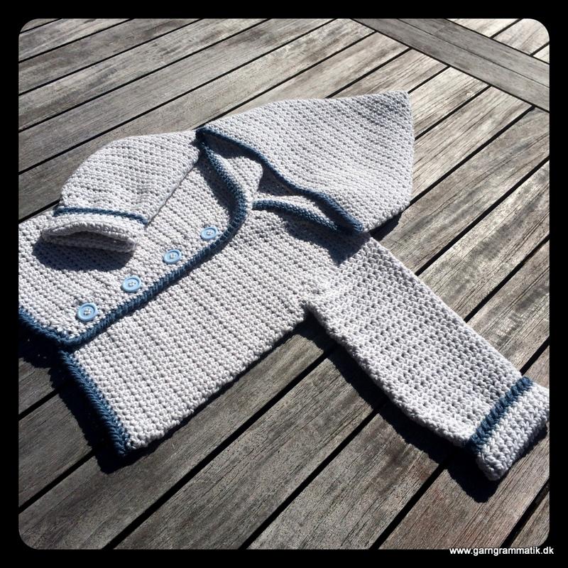 hæklet jakke baby