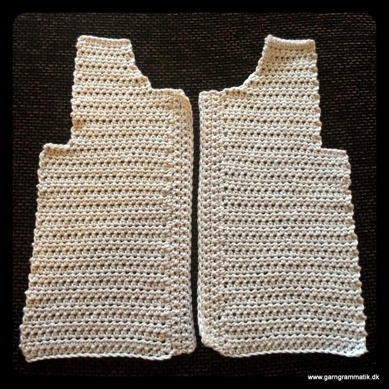 Baby hættetrøje med knapper_3