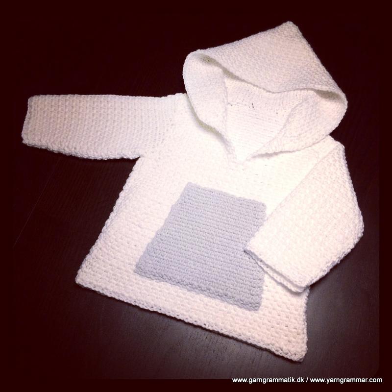Hættetrøje med lomme_8
