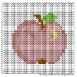 Mønster - Æble