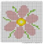 Mønster - Blomst