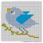 Mønster - Fugl
