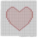 Mønster - Hjerte
