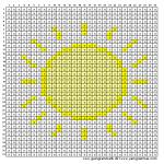 Mønster - Sol