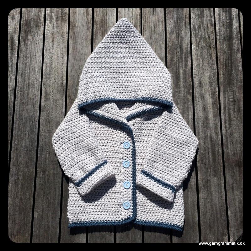 Baby hættetrøje med knapper_13