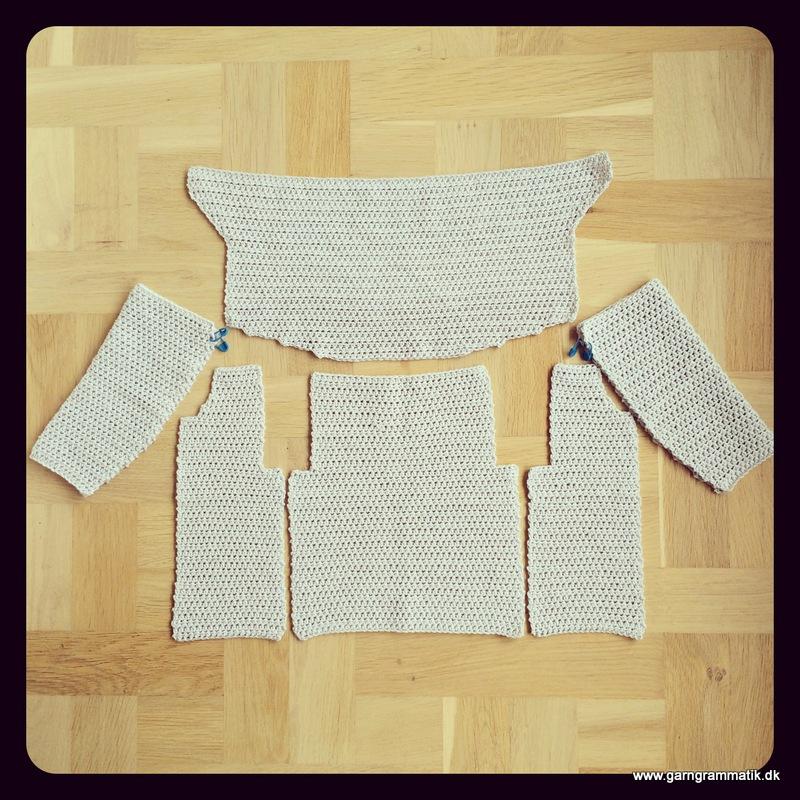 Baby hættetrøje med knapper_8