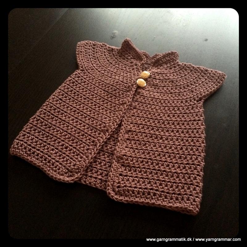 Baby cardigan med lille krave_5